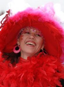 Beim Sambakarneval, Motto 'ROT'